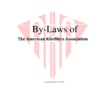 2013 By-Laws Of The American Kitefliers Association